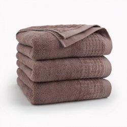 Ręcznik kąpielowy 50x90 Cynamonowy Paulo - Zwoltex