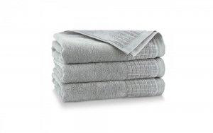 Ręcznik kąpielowy Zwoltex 70x140 Paulo 3 - Jasny Grafit - Bawełna Egipska.