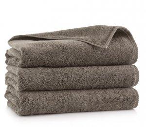 Ręcznik kąpielowy Zwoltex 50x100  KIWI 2 - Taupe - Bawełna Egipska.