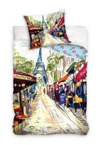 Pościel Miasto Paryż 160x200 Carbotex 100% bawełna Paris 1005