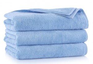 Ręcznik kąpielowy Zwoltex 70x140 KIWI 2 - Niebieski - Bawełna Egipska.