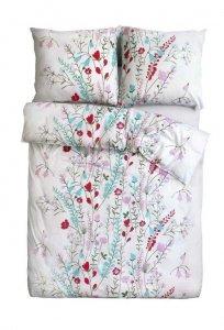 Ekskluzywna pościel satynowa Andropol 160x200 cm 100% bawełna wz. 18608/1 . Pościel w Kwiaty 160x200