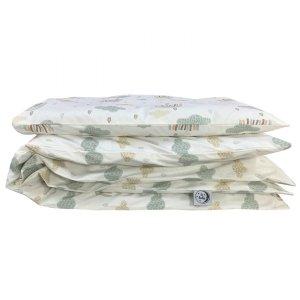 Komplet pościel dla niemowląt 100x135 + 40x60 Tęcze 100% bawełna Poldaun