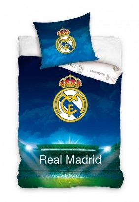 Pościel Real Madryt 140x200 100% bawełna Carbotex RM 6003 Real Madrid Piłka Nożna