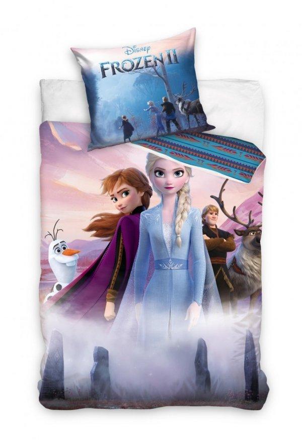 Pościel Frozen - Kraina Lodu 140x200 dla dziewczynki