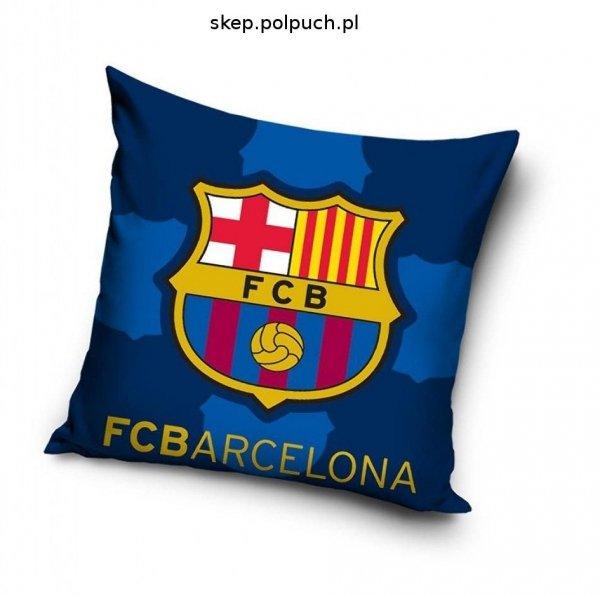 Poszewka FC Barcelona 40x40 Carbotex Ciemno Niebieska