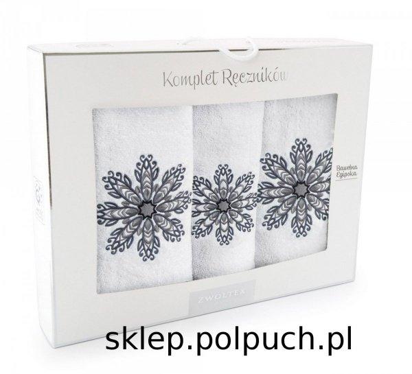 Komplet ręczników kąpielowych Zwoltex Rozeta 3 Częściowy