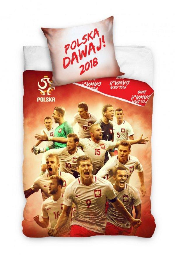 Pościel Reprezentacja Polski 160x200 Lewandowski