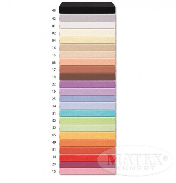 Prześcieradło Matex z gumką 140x200 cm Olbrzymi wybór kolorów