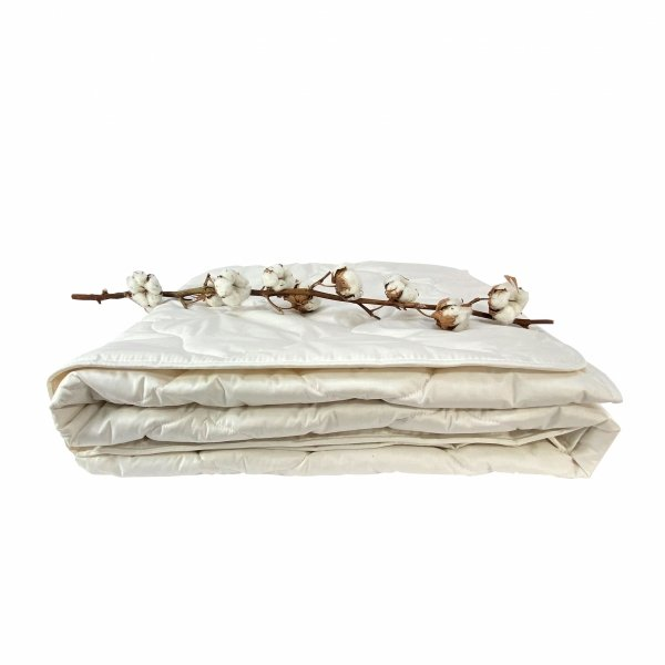 Ekologiczna kołdra 200x220 Ecotton - 100% bawełna Poldaun
