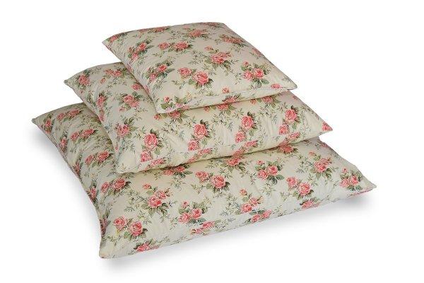 Poduszki z pierza dartego ręcznie 70x80 cm