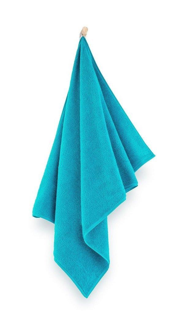 Ręcznik z bawełny egipskiej Zwoltex Kiwi 2 50x100 cm Ocean