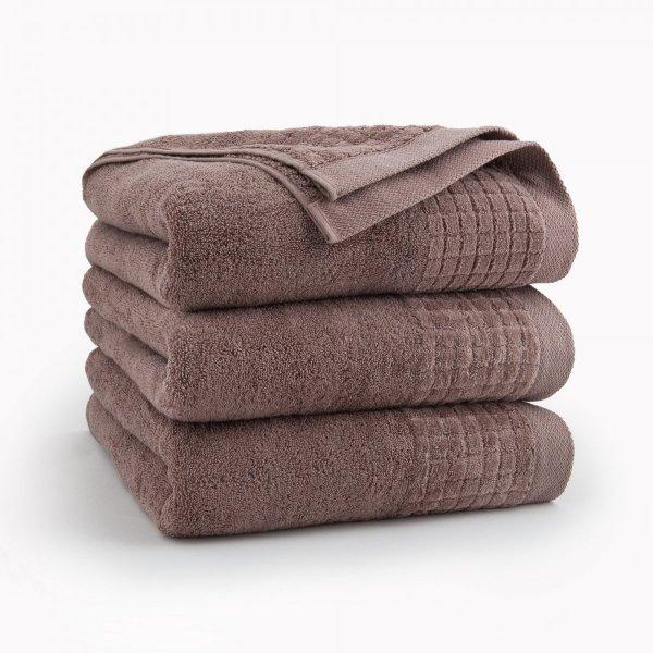 Ręcznik 50x90 100% bawełna Cynamonowy Paulo