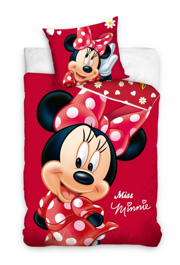 Pościel dla dziewczynki Myszka Minnie 140x200