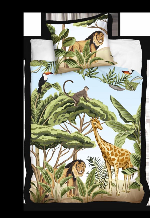 Pościel Safari 160x200 dla dzieci - Carbotex