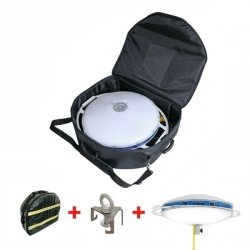 Oświetlenie pola akcji PowerDisk moc 50 000 lm 230V zestaw + torba + zawiesie
