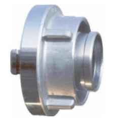 Łącznik do węża 110 mm z kutego aluminium (para)