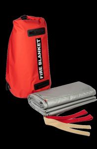 Samochodowa płachta gaśnicza Padtex Insulation SPG 6x8 Wielokrotnego użytku + torba transportowa