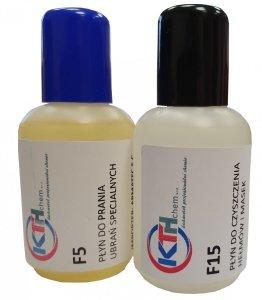 Zestaw mini próbek 2x50 ml - F5, F15 + GRATIS