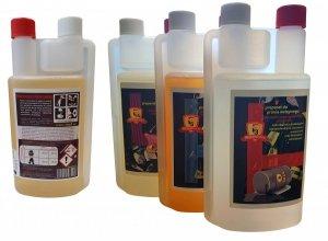 Zestaw 4 butelki środków piorący + DOSTAWA GRATIS