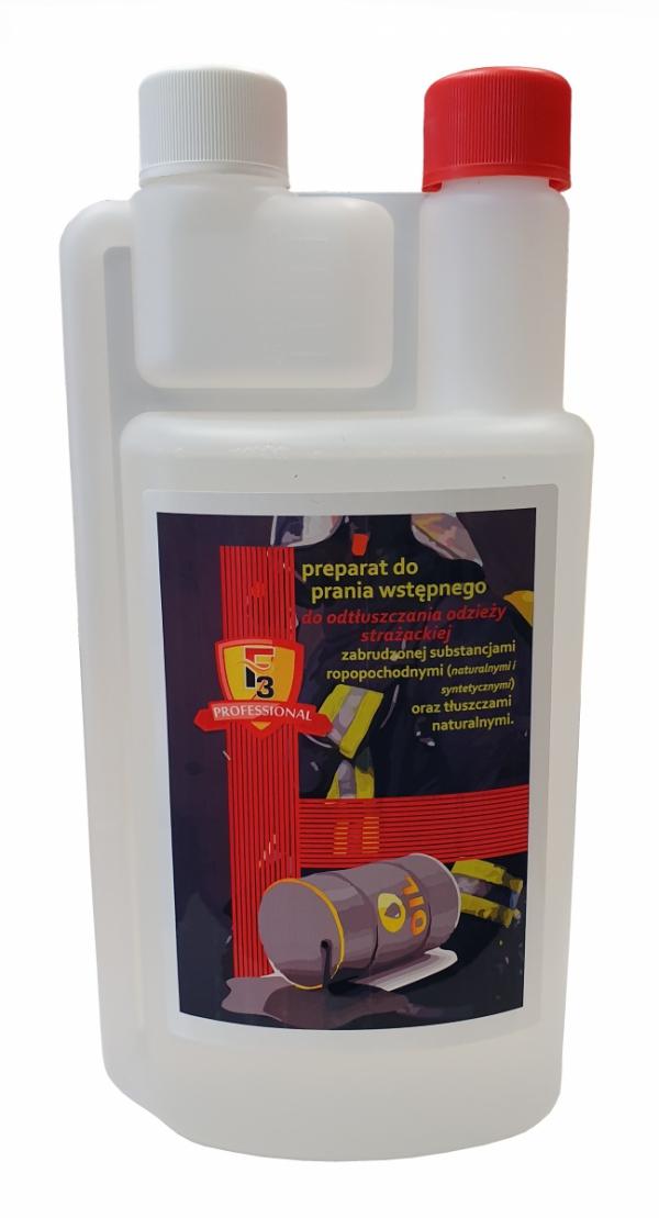 F3 - preparat do prania wstępnego odzieży strażackiej 1l