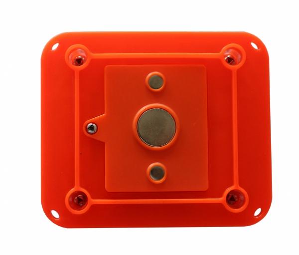 Zestaw 6-ciu prostokątnych flar drogowych Smart Wi-Fi w kolorze czerwonym