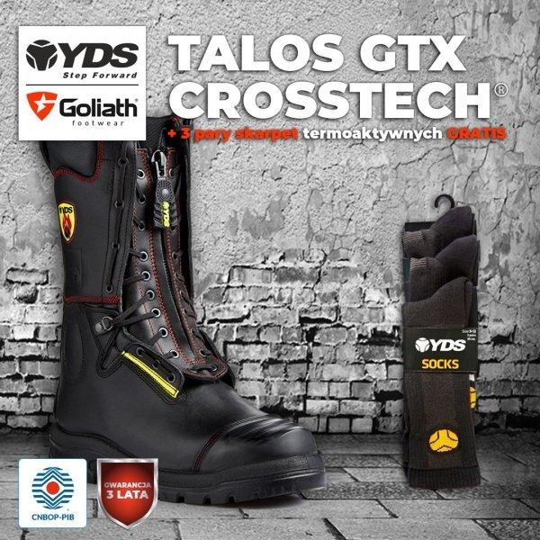 Buty strażackie YDS TALOS GTXCROSSTECH®