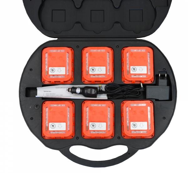 Zestaw 6-ciu sztuk flar Wi-fi