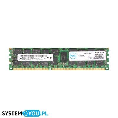 Pamięć Dell 16GB 2Rx4 DDR3 RDIMM PC3-12800R 1600MHz