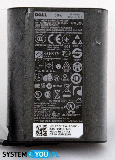 Zasilacz sieciowy, 30W, 3-Pin, Model DA30NM131