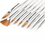 Nail art brushes