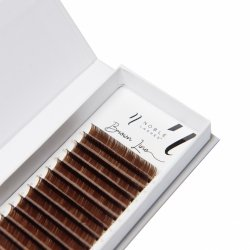 Brown Line Lashes C 0,15 brown