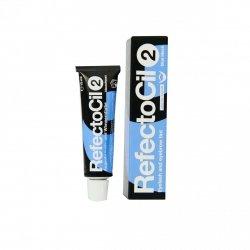 Augenbrauenfarbe und Wimpernfarbe (mit Gel-Konsistenz) RefectoCil, BLAU SCHWARZ