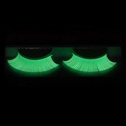 Fluoreszierende Wimpern