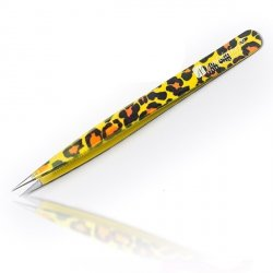 Straight Tweezer Leopard Pattern