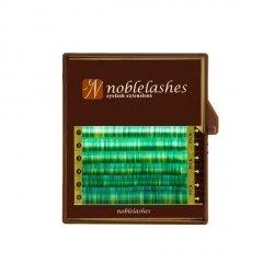 Rzęsy w kolorze malachitu C MIX