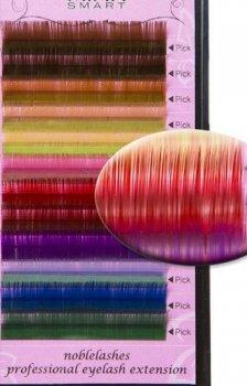 Rzęsy kolorowe i ozdobne