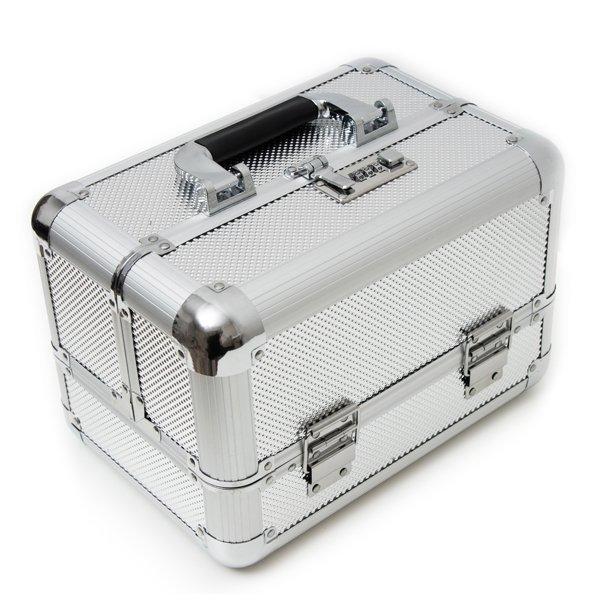 Silberkoffer mit Code