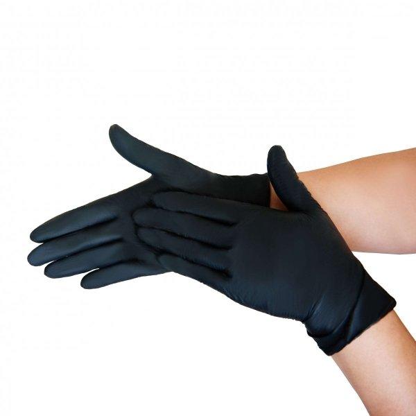Rękawiczki jednorazowe nitrylowe 100szt.