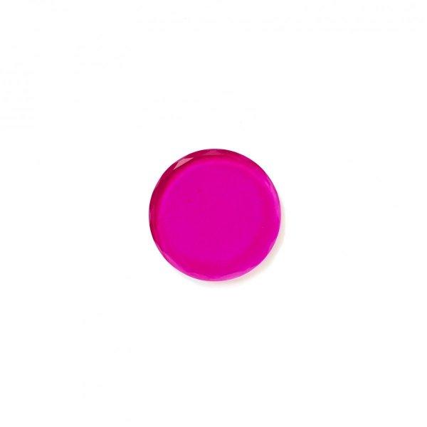 Podstawka kryształowa w kolorze różowym