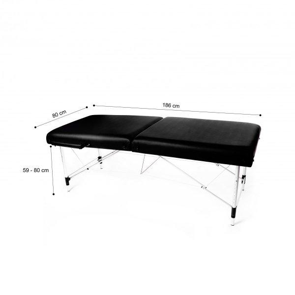 PROMOCJA Profesjonalne łóżko kosmetyczne (bez bocznych ramion)