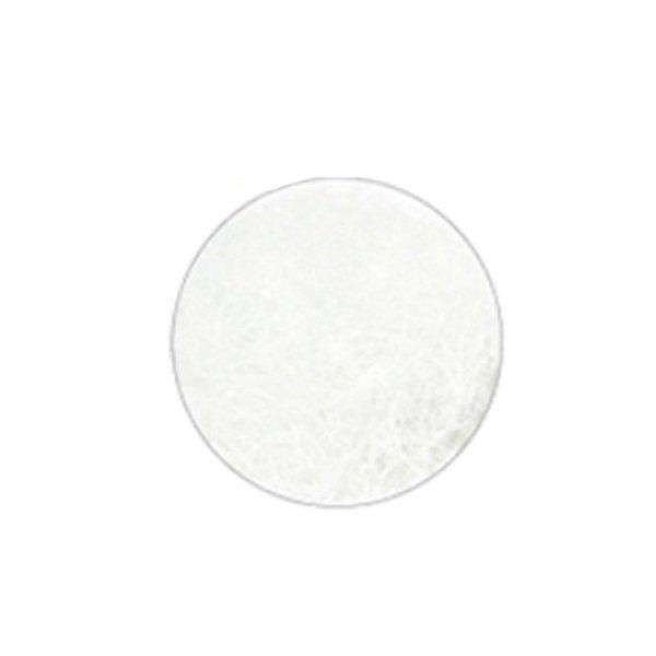 Rzęsy Białe jedwabne C 0,20