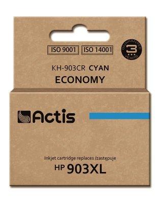 Tusz ACTIS KH-903CR (zamiennik HP 903XL T6M03AE; Premium; 12 ml; niebieski)