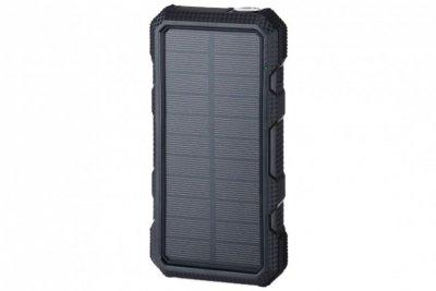 POWERNEED POWER BANK Z PANELEM SOLARNYM 20000MAH LI-POLY PV 1,5W QI 2A USB QC 3.0 LED POWER DELIVERY CZARNY S20000B