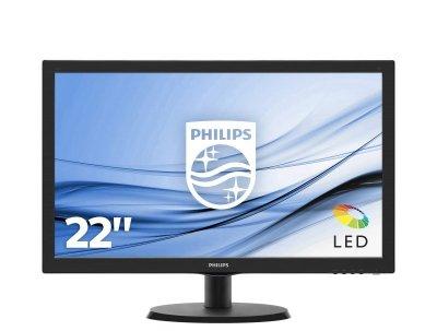 Philips V Line Monitor LCD ze SmartControl Lite 223V5LSB2/10