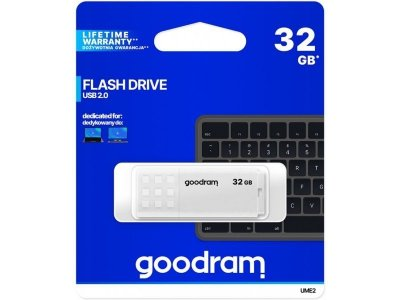 Pendrive GoodRam UME2 UME2-0320W0R11 (32GB; USB 2.0; kolor biały)