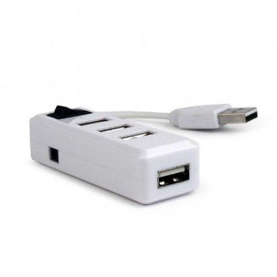 GEMBIRD HUB USB 2.0 4 PORTY Z PRZEŁĄCZNIKIEM UHB-U2P4-21
