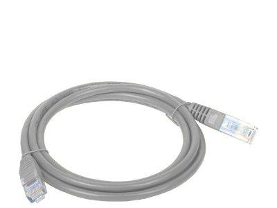 Patchcord UTP A-LAN KKU5SZA0.5 (RJ45 - RJ45 ; 0,50m; UTP; kat. 5e; kolor szary)
