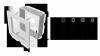 KRATKA kominkowa 11x11 szlif