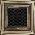 KRATKA kominkowa galwaniczna 11x11 rustykalna